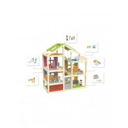 Дървена къща - вила