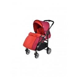 Детска количка, комбинирана - Zooper Waltz, червена