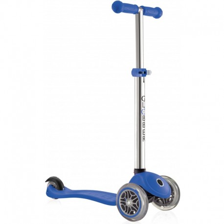 Тротинетка за деца с регулируема височина - тъмно синя