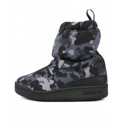 ADIDAS Slip On Snow Boots Camo