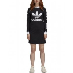 ADIDAS Trefoil Logo Dress Black
