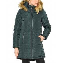VERO MODA Quilted Long Parka Blue
